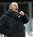 10/01/2009  Copyright Pic: James Stewart.File Name : sct_jspa29_falkirk_v_qots.FALKIRK MANAGER JOHN HUGHES.James Stewart Photo Agency 19 Carronlea Drive, Falkirk. FK2 8DN      Vat Reg No. 607 6932 25.Studio      : +44 (0)1324 611191 .Mobile      : +44 (0)7721 416997.E-mail  :  jim@jspa.co.uk.If you require further information then contact Jim Stewart on any of the numbers above.........