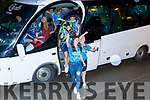 Celebrating the All Ireland Camogie Junior Champions Kerry team homecoming in Causeway on Sunday night.