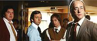 OLIVER PLATT, MICHAEL SHEEN, SAM ROCKWELL, MATTHEW MACFADYEN.in Frost/Nixon .Frost / Nixon .*Filmstill - Editorial Use Only*.CAP/FB.Supplied by Capital Pictures.