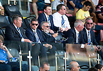 Alashkert FC v St Johnstone...02.07.15   Republican Stadium, Yerevan, Armenia....UEFA Europa League Qualifier.<br /> Chairman Steve Brown watches the game<br /> Picture by Graeme Hart.<br /> Copyright Perthshire Picture Agency<br /> Tel: 01738 623350  Mobile: 07990 594431