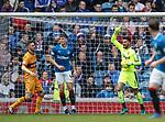 Wes Foderingham riled up in goal