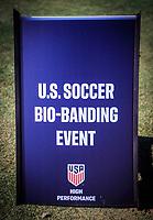 2020 U.S. Soccer Bio-Banding Event, January, 12, 2020