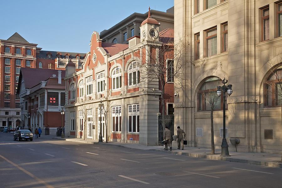Hirsbrunner & Company's Building Located Between The Astor Hotel And The Tientsin Press Building.  Tianjin (Tientsin).