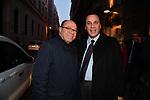 """CARLO VERDONE CON ANTONIO MONDA<br /> PRESENTAZIONE LIBRO """"NEL TERRITORIO DEL DIAVOLO"""" DI A. MONDA - TEATRO OFF ROMA 03/2019"""