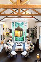 white lounge furniture