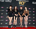 """Brown Eyed Girls, Jul 24, 2014 : South Korean girl group Brown Eyed Girls, attend a photo call before the 10th anniversary live special of weekly music chart show, """"M! Countdown"""" of Mnet in Goyang, north of Seoul, South Korea. (Photo by Lee Jae-Won/AFLO) (SOUTH KOREA)"""