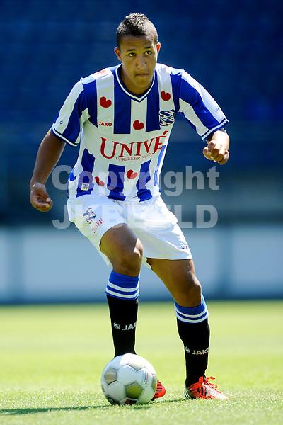 HEERENVEEN - Voetbal, persdag SC Heerenveen, sezioen 2012-2013, 24-07-2012,    Pele van Anholt