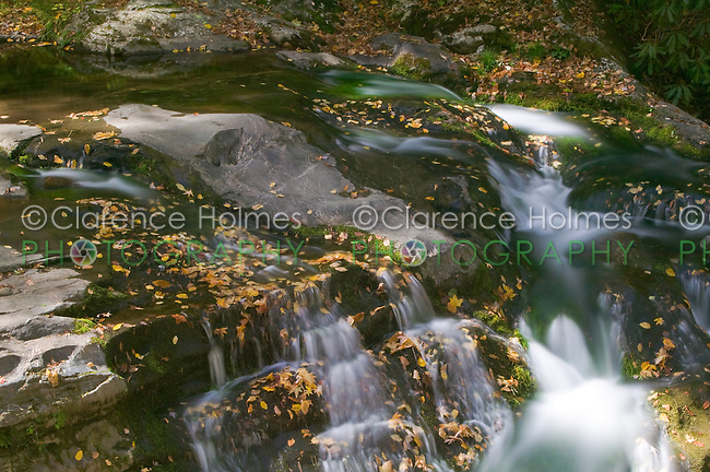Laurel Creek Cascades, Great Smoky Mountains National Park