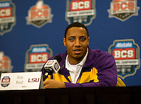 BCS National Championship - LSU Defensive Press Conference - January 5th, 2012