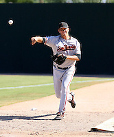 Justin Fitzgerald / San Francisco Giants 2008 Instructional League..Photo by:  Bill Mitchell/Four Seam Images