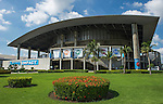 Exterior view of the Impact Arena Stadium during the Day 6 of the PTT Thailand Open on September 30, 2010 in Bangkok, Thailand. Photo by Victor Fraile / The Power of Sport Images