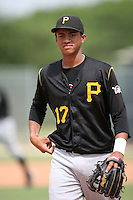August 15, 2008: Andury Acevedo (17) of the GCL Pirates.  Photo by: Chris Proctor/Four Seam Images