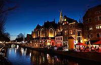 Nederland Amsterdam 2019. De Oude Kerk in het Red Light District. Foto Berlinda van Dam / Hollandse Hoogte