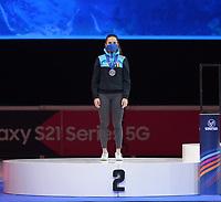 SPEEDSKATING: DORDRECHT: 07-03-2021, ISU World Short Track Speedskating Championships, Hanne Desmet (Bel), ©photo Martin de Jong