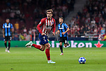 Atletico de Madrid's Antoine Griezmann during UEFA Champions League match between Atletico de Madrid and Club Brugge at Wanda Metropolitano Stadium in Madrid, Spain. October 03, 2018. (ALTERPHOTOS/A. Perez Meca)