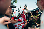 Caleb Ewan (AUS) Lotto-Soudal wins Stage 16 of the 2019 Tour de France running 177km from Nimes to Nimes, France. 23rd July 2019.<br /> Picture: ASO/Thomas Maheux   Cyclefile<br /> All photos usage must carry mandatory copyright credit (© Cyclefile   ASO/Thomas Maheux)