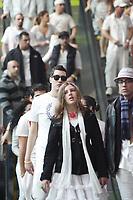 Bal en Blanc durant la fin de semaine de pâque, avril 2012.<br /> <br /> Photo :  Agence Quebec Presse