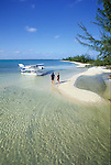 Exploring the Bahamas by seaplane, landing at Andros Island, Out Islands