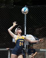 Cal Beach Volleyball vs Washington, April 14, 2017