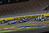 NASCAR Camping World Truck Series<br /> Stratosphere 200<br /> Las Vegas Motor Speedway, Las Vegas, NV USA<br /> Friday 2 March 2018<br /> Kyle Busch, Kyle Busch Motorsports, Toyota Tundra Cessna and Johnny Sauter, GMS Racing, Chevrolet Silverado Allegiant Airlines<br /> World Copyright: Nigel Kinrade<br /> NKP / LAT Images