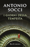 I GIORNI DELLA TEMPESTA - By Antonio Socci<br /> <br /> 2012 Italian Hardcover Edition<br /> Published by Rizzoli Romanzo, Italy<br /> Book Copyright: ©2012 RCS Libri, S.p.A., Milano<br /> Jacket Design: Mucca Design<br /> <br /> Photo of the Vatican Museum Steps available for licensing from Getty Images.  Please go to www.gettyimages and search for image # 10153015.