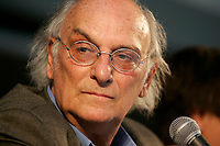 September 2004 File Photo -  Carlos Saura. director, THE 7TH DAY Press Conference at World Film Festival