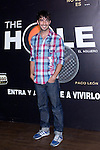 12.09,2012. Celebrities attend the presentation of the new season of  'The Hole' in Theater Caser Calderon of Madrid, with La Terremoto de Alcorcon and Alex O'Dogherty. In the image Hugo Silva (Alterphotos/Marta Gonzalez)
