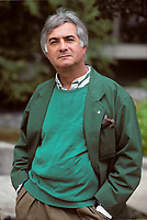 Montreal, 1988 File Photo<br /> <br /> French actor Jean-Claude Brialy pose for an exclusive photo in 1988.<br /> <br /> Born March 30, 1933 in Aumale, now Sour el Ghozlane, Algeria) is a French socialite, actor and director who starred in French movies. He was one of the main actors of the French Nouvelle Vague, starting with Le Beau Serge. he passed away  May 2007