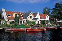 canal boats, Holland