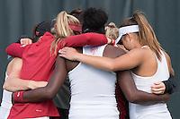 Stanford, CA - Stanford Women's Tennis Host Texas at Taube Family Tennis Center.