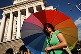 Protest gegen Baumafia in Bulgarien / Protest against construction mafia in Bulgaria