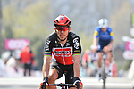 Philippe Gilbert (BEL) Lotto Soudal crosses the finish line at the end of the 2021 Flèche-Wallonne, running 193.6km from Charleroi to Huy, Belgium. 21st April 221.  <br /> Picture: Serge Waldbillig | Cyclefile<br /> <br /> All photos usage must carry mandatory copyright credit (© Cyclefile | Serge Waldbillig)