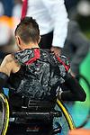 Trevor Hirschfield, Rio 2016 - Wheelchair Rugby // Rugby En Fauteuil roulant.<br /> Canada vs Japan in the Wheelchair Rugby bronze medal final // Le Canada contre le Japon dans la finale pour la médaille de bronze du rugby en fauteuil roulant. 18/09/2016.