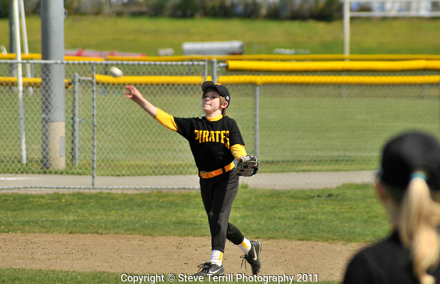 Ashton throwing baseball