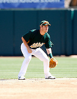 Adrian Cardenas - Oakland Athletics - 2009 spring training.Photo by:  Bill Mitchell/Four Seam Images