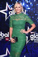 Jenni Falconer<br /> arriving for the Global Awards 2020 at the Eventim Apollo Hammersmith, London.<br /> <br /> ©Ash Knotek  D3559 05/03/2020