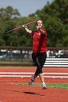 4 May 2008: Stanford Cardinal Kara Bennett during Stanford's Payton Jordan Cardinal Invitational at Cobb Track & Angell Field in Stanford, CA.