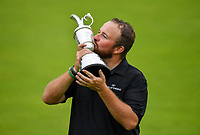 21 July 2019; Shane Lowry of Ireland kisses the Claret Jug after winning the 148th Open Championship at Royal Portrush in Portrush, Co Antrim. Photo by Brendan Moran/Sportsfile/Dicksondigital