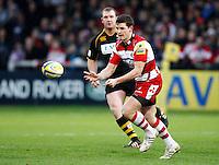 Photo: Richard Lane/Richard Lane Photography. Gloucester Rugby v London Wasps. Aviva Premiership. 26/12/2011. Gloucester's Freddie Burns.