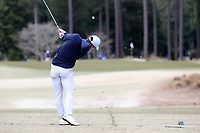 PINEHURST, NC - MARCH 02: Peter Fountain of the University of North Carolina tees off on the sixth hole at Pinehurst No. 2 on March 02, 2021 in Pinehurst, North Carolina.