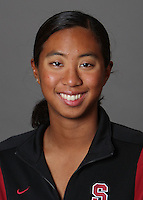 STANFORD, CA - OCTOBER 28:  Gayle Lee of the Stanford Cardinal synchronized swimming team poses for a headshot on October 28, 2009 in Stanford, California.