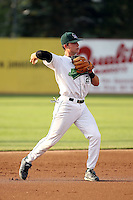 June 27th 2008:  Joel Staples of the Jamestown Jammers, Class-A affiliate of the Florida Marlins, during a game at Russell Diethrick Park in Jamestown, NY.  Photo by:  Mike Janes/Four Seam Images