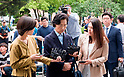 Lee Myung-Hee wife of Korean Air Lines chief appears for questioning in Seoul