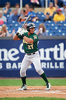 Lynchburg Hillcats designated hitter Anthony Santander (27) at bat during a game against the Wilmington Blue Rocks on June 3, 2016 at Judy Johnson Field at Daniel S. Frawley Stadium in Wilmington, Delaware.  Lynchburg defeated Wilmington 16-11 in ten innings.  (Mike Janes/Four Seam Images)