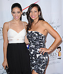 Edy Ganem and Constance Marie attends 13th Annual El Sueño de Esperanza Gala at Club Nokia in Los Angeles, California on September 24,2013                                                                               © 2013 Hollywood Press Agency