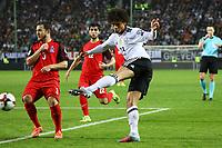 Leroy Sane (Deutschland Germany) zieht ab - 08.10.2017: Deutschland vs. Asabaidschan, WM-Qualifikation Spiel 10, Betzenberg Kaiserslautern