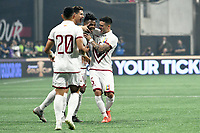 Atlanta, GA - Wednesday June 5, 2019: The Mexican National Team defeated the Venezuelan National Team, 3-1,  in a friendly  at Mercedes-Benz Stadium.