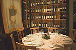 Table Setting, Olio Restaurant, Florence, Tuscany, Italy