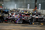 José Maria Lopez of DS Virgin Racing team during the first race of the FIA Formula E Championship 2016-17 season HKT Hong Kong ePrix at the Central Harbourfront Circuit on 9 October 2016, in Hong Kong, China. Photo by Victor Fraile / Power Sport Images