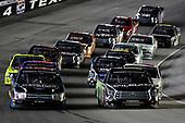 #17: Tyler Ankrum, DGR-Crosley, Toyota Tundra RAILBLAZA and #99: Ben Rhodes, ThorSport Racing, Ford F-150